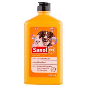 Shampoo para Cães e Gatos Neutro Sanol Dog Frasco 500ml