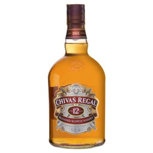 Whisky Escocês Blended 12 Years Chivas Regal Garrafa 1l