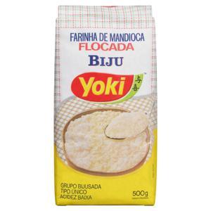 Farinha de Mandioca Tipo Único Flocada Yoki Pacote 500g