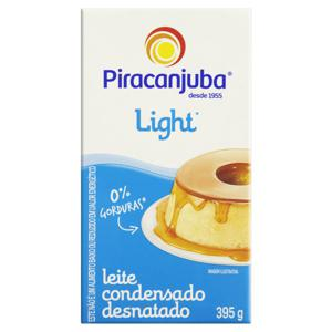 Leite Condensado Desnatado Light Piracanjuba Caixa 395g