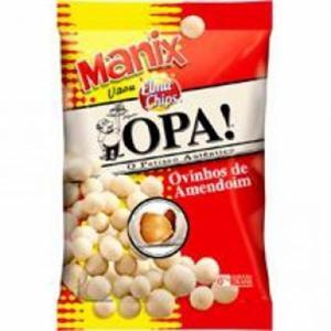 Ovinho De Amendoim Elma Chips Pacote 80G Manix