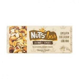 Barra NUTS BAR Castanha e Sementes 2x25g