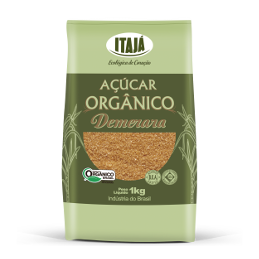 Açúcar Orgânico Demerara De 1Kg