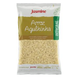 Arroz Agulhinha Tipo 2 Integral Jasmine 1kg