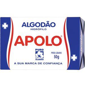 Algodão APOLO Caixa 50g