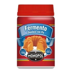 Fermento Químico MONOPOL Lata 100g