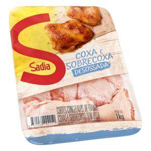 Coxa com Sobrecoxa de Frango Congelada Desossada Sadia 1kg