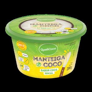 Manteiga De Coco Qualicoco Sem Sabor 200G