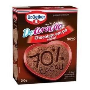 Chocolate em Pó Dr. Oetker 70% 200g