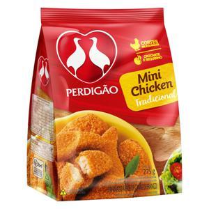 Empanado de Frango Tradicional Perdigão Mini Chicken Pacote 275g