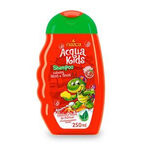 Shampoo Cheirinho de Morango Nazca Acqua Kids Frasco 250ml