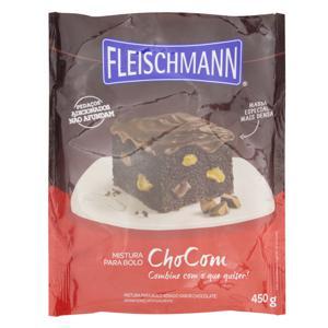 Mistura para Bolo Chocom Fleischmann Sachê 450g