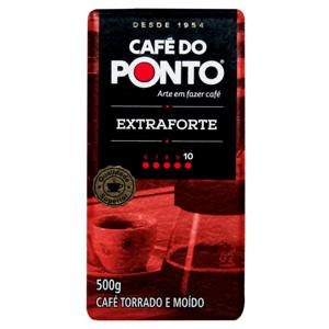 Café Torrado e Moído a Vácuo Extraforte Café do Ponto Pacote 500g