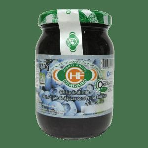 Geleia de MIRTILO Orgânico S/Açúcar (270g)