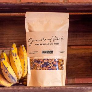 Granola Ativada com uva e banana passa - 350g