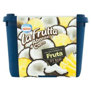 Sorvete Coco e Abacaxi Nestlé La Frutta Pote 1,5l