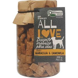 Biscoito Orgânico para Cães Maracujá & Camomila 200g - Dr. Stanley