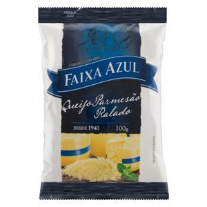 Queijo Parmesão Ralado Faixa Azul Pacote 100g