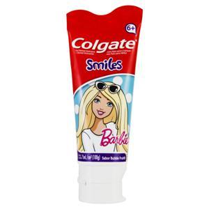 Gel Dental Infantil com Flúor Bubble Fruit Barbie Colgate Smiles Bisnaga 100g