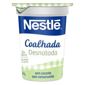 Coalhada Desnatada Nestlé Pote 140g