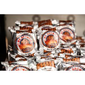 Caixa de Brownie de Doce de Leite - 40 unidades