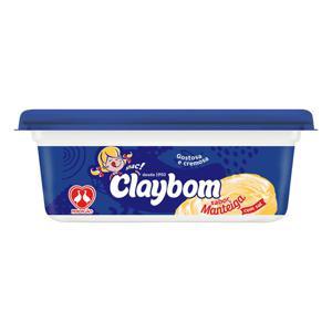 Margarina Claybom 250G Com Sal Sabor Manteiga