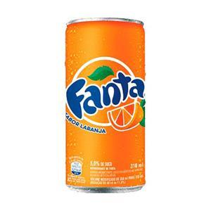 Refrigerante FANTA Laranja Lata 310ml