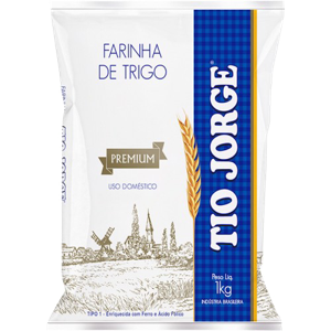 Farinha De Trigo 1Kg Tio Jorge
