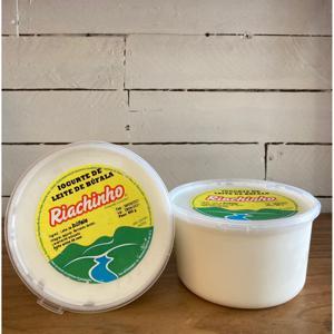 Iogurte de búfala natural 600g - Riachinho