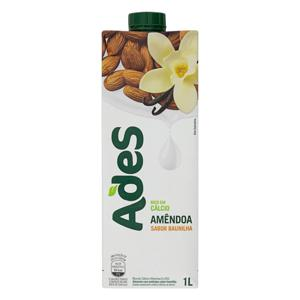 Bebida à Base de Amêndoa Baunilha Ades Caixa 1l