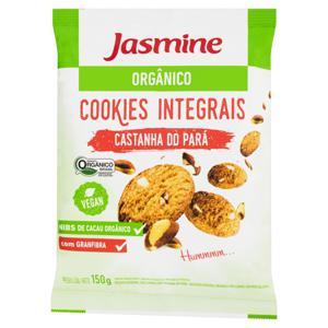 Biscoito Cookie Integral Orgânico Castanha-do-Pará Jasmine Pacote 150g