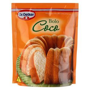 Mistura para Bolo Coco Dr. Oetker Sachê 450g