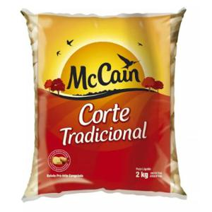 Batata MCCAIN Corte Tradicional 2KG
