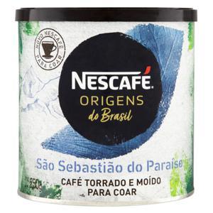 Café Torrado e Moído São Sebastião do Paraíso Nescafé Origens do Brasil Lata 250g