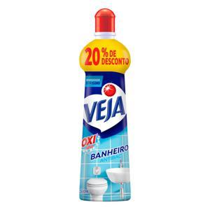 Branqueador Banheiro Veja Antibac Squeeze 500ml Grátis 20% de Desconto