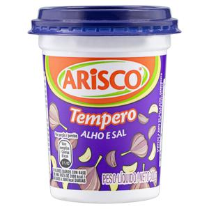 Tempero em Pó Alho e Sal Arisco Pote 300g