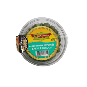 Amendoim Japonês 100G REI DAS CASTANHAS  Salsa/Cebola