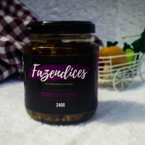 Conserva de berinjela à felippo 240g - Fazendices