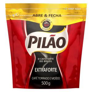 Café Torrado e Moído Extraforte Pilão Pouch 500g