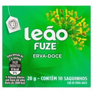 Chá Erva-Doce Leão Fuze Caixa 20g 10 Unidades