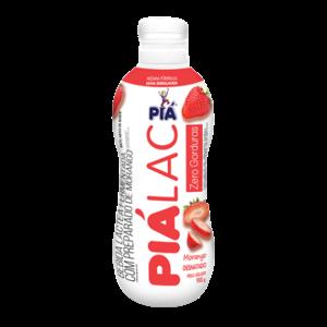 Iogurte Morango PIÁ Lactose Garrafa 800g