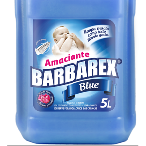 Amaciante Barbarex 5lt Blue
