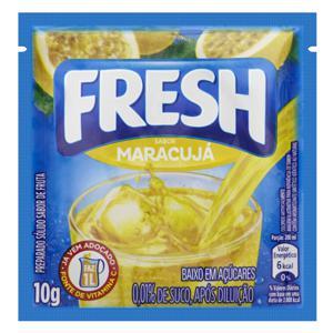 Refresco em Pó Maracujá Fresh Pacote 10g