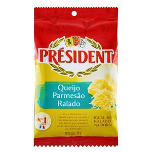 Queijo Parmesão Ralado Président Pacote 50g