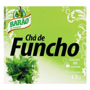Chá Funcho Barão de Cotegipe Caixa 13g 10 Unidades