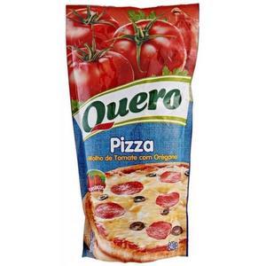 Molho de Tomate QUERO Pizza Sachê 340g