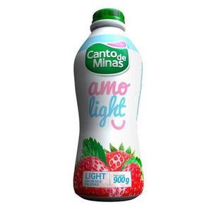 Iogurte CANTO DE MINAS Light Morango 900g