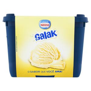 Sorvete Chocolate Branco Nestlé Galak Pote 1,5l
