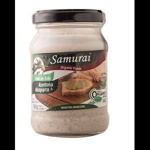 Patê de Tofu Azeitona e Alcaparras Orgânico 165g - Samurai