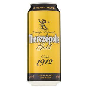 Cerveja Premium Lager Therezópolis Lata 473ml